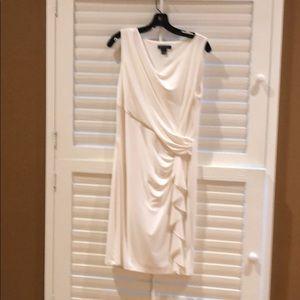 Cream Ralph Lauren dress